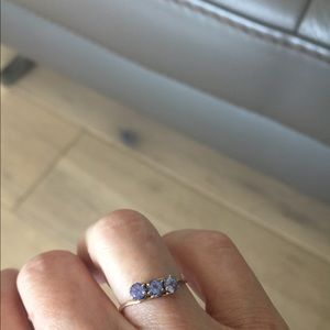 Jewelry - So Dainty Tanzanite Rose Gold Ring